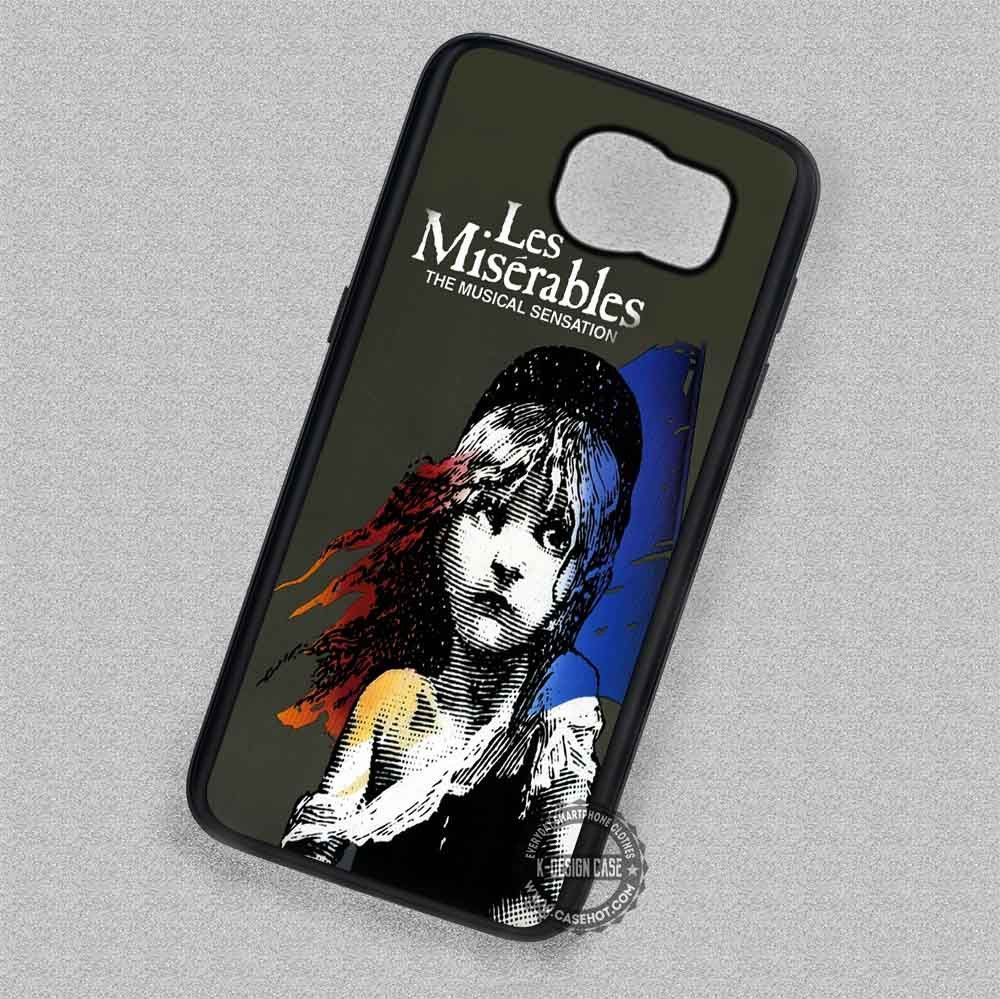 Les Miserables The Musical Sensation Broadway Theatre - Samsung Galaxy S7 S6 S5 Note 7 Cases & Covers
