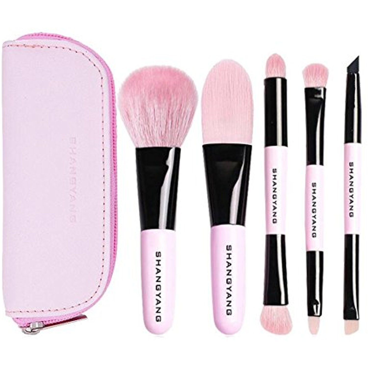 Portable Makeup Brushes 5 Pieces Make Up Set Foundation