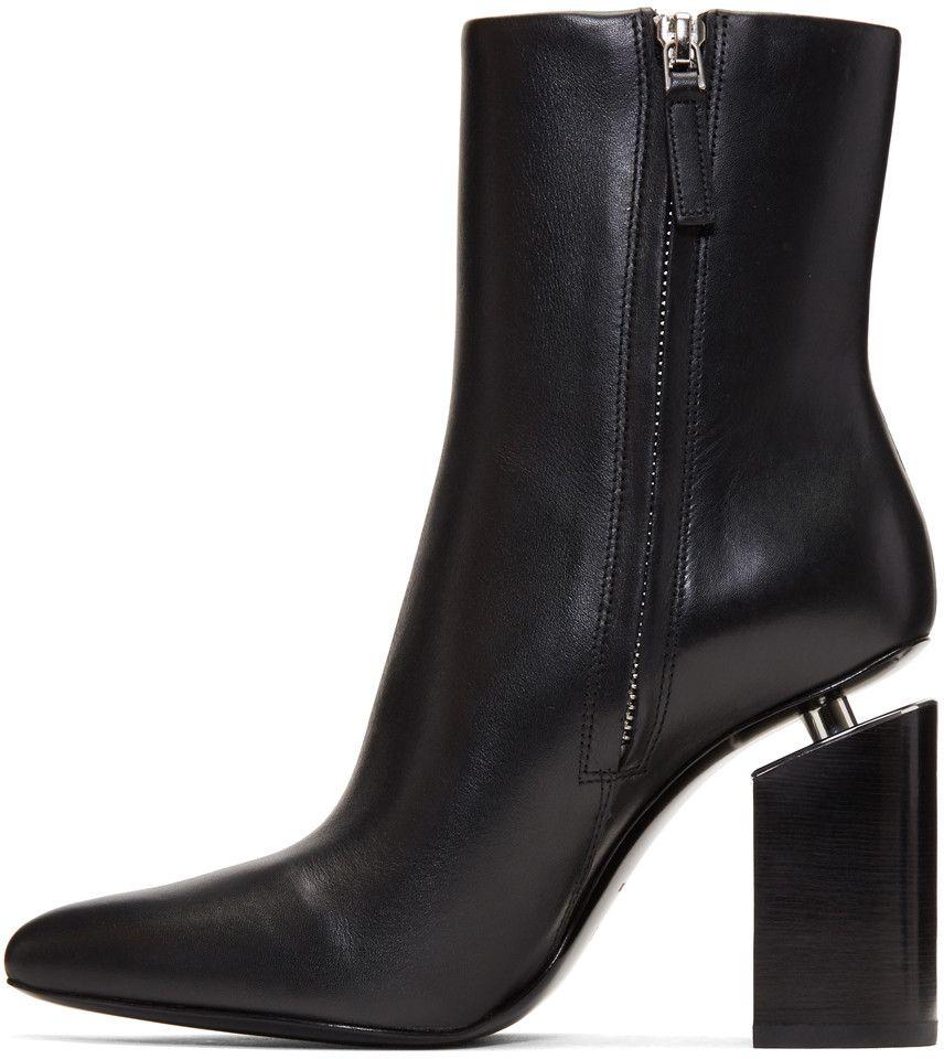 Alexander Wang - Black Kirby Boots