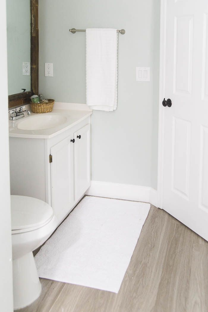 Vinyl Plank Flooring Review What I Really Think Of My New Flooring Vinyl Plank Flooring Vinyl Plank Vinyl Plank Flooring Bathroom