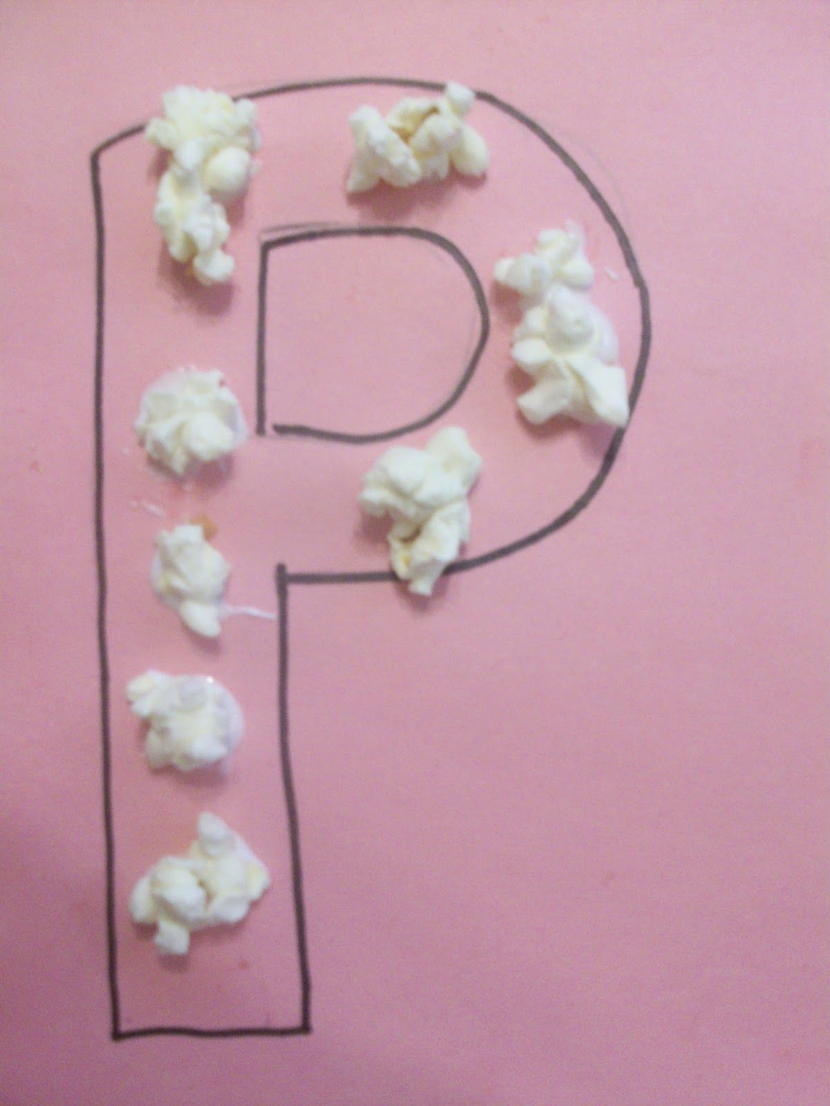 letter p crafts letter p is for popcorn craft we made some