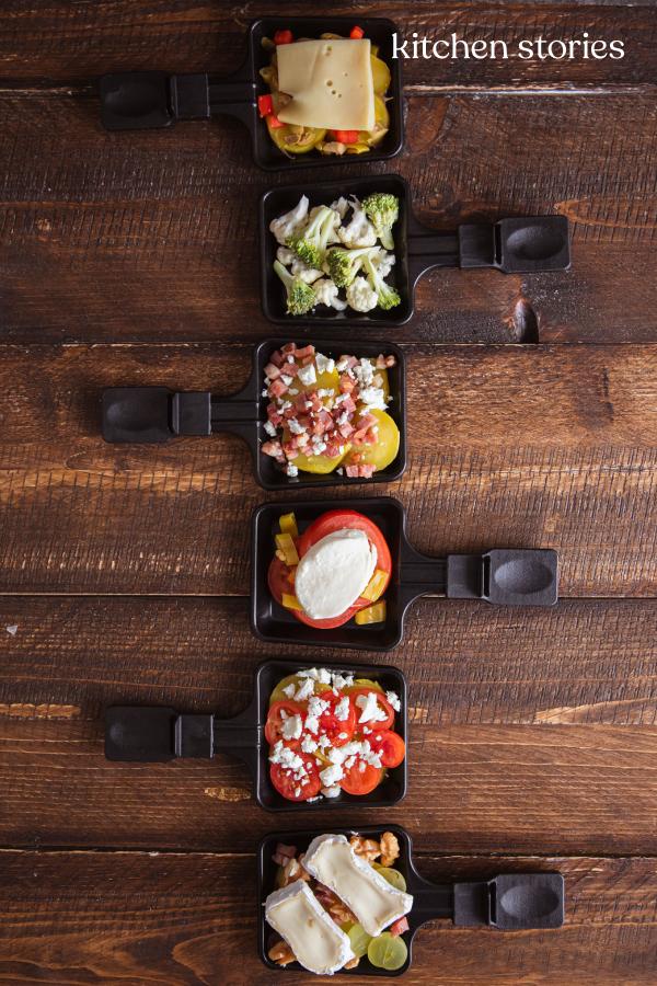 Leckere Raclette Ideen und Möglichkeiten