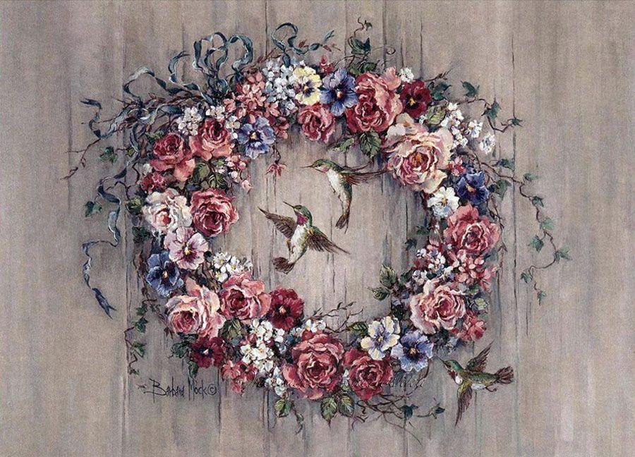 папка декупаж картинки цветы венки грудь доставляет внукам