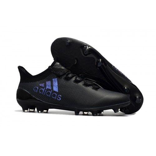 Scarpe Da Calcio Adidas X 17.1 FG Nere Blu | Scarpe da