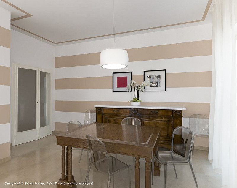 Righe orizzontali alle pareti cerca con google pareti for Piani di progettazione della casa 3d 4 camere da letto