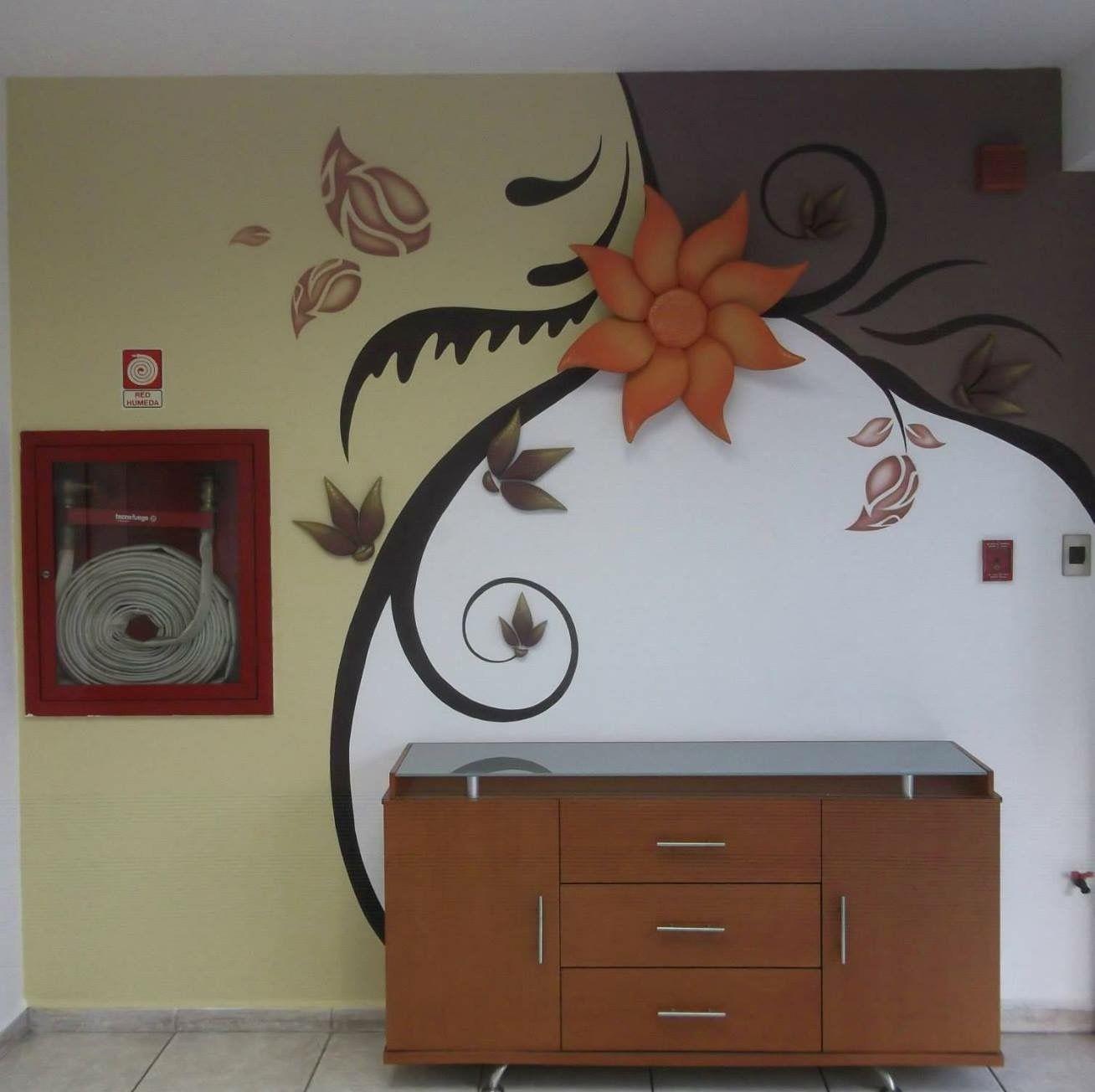 Pin de ana sara perez en para la casa pinterest paredes pintadas murales y decoracion de pared - Dibujos en paredes interiores ...