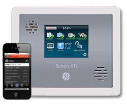 Ge Interlogix Next Generation Simon Xti Wireless Touchscreen Adt Security Wireless Surveillance System System Monitor