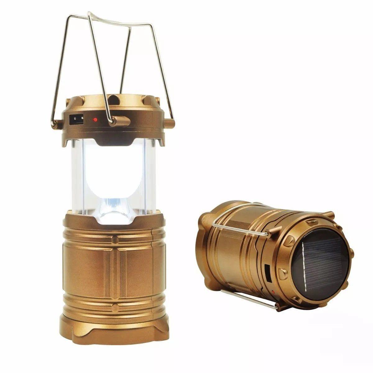 Kit 3 Mini Lampiao Luminaria Lanterna Solar De Led Carrega Celular Lanternas Solares Lampiao Lanterna