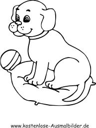 Ausmalbild Welpe Ausmalbilder Hunde Welpen Hunde Welpen