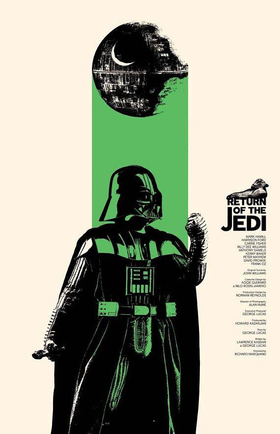 Return of the Jedi Film Poster