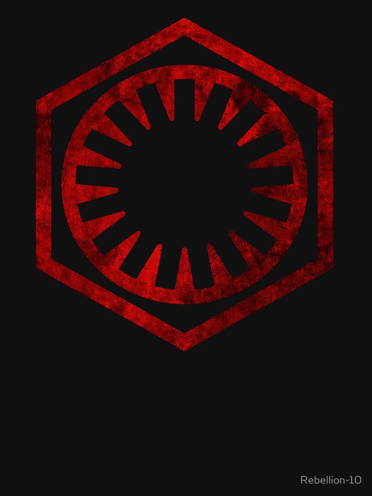 The First Order Logo Star Wars Pinterest Logos Sith