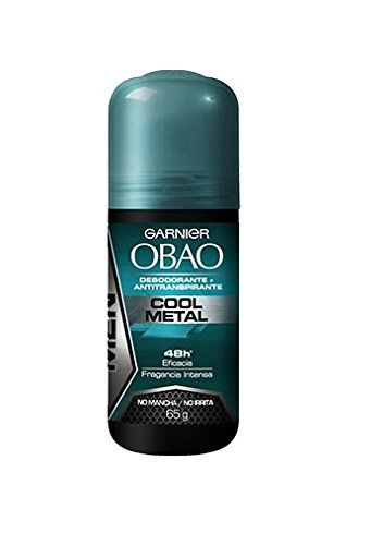 Pack of 4 Garnier OBAO for Men 48 Hour Roll on Deodorant  Antiperspirant Cool Metal Scent 65 g each by Garnier OBOA *** Continue to the product at the image link.