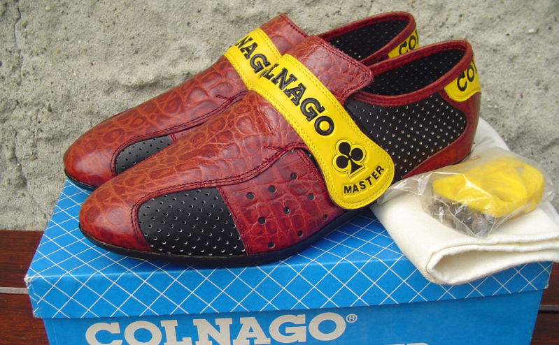 Croc leather Colnago Road Cycling Shoes