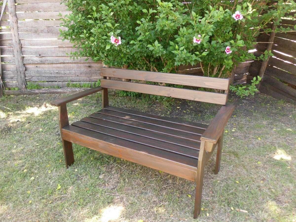 Resultado de imagen para bancos de madera para jardin for Bancas de madera para jardin