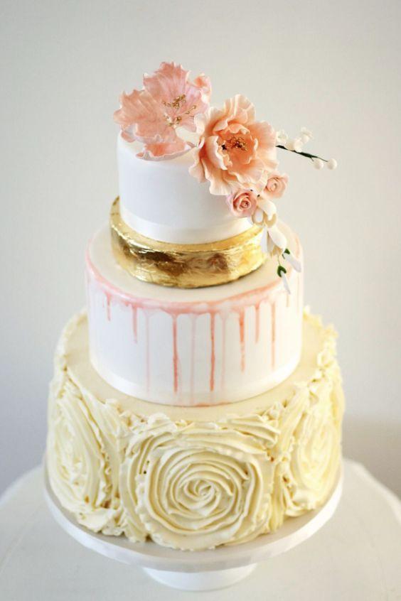 Cakes & Desserts | Wedding Idea | Pinterest | Yellow weddings ...