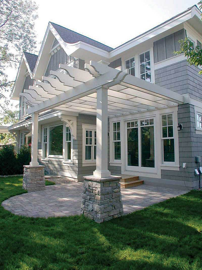 pergola 6 bedroom farmhouse. 33 pergola ideas to keep cool this summer 6 bedroom farmhouse a