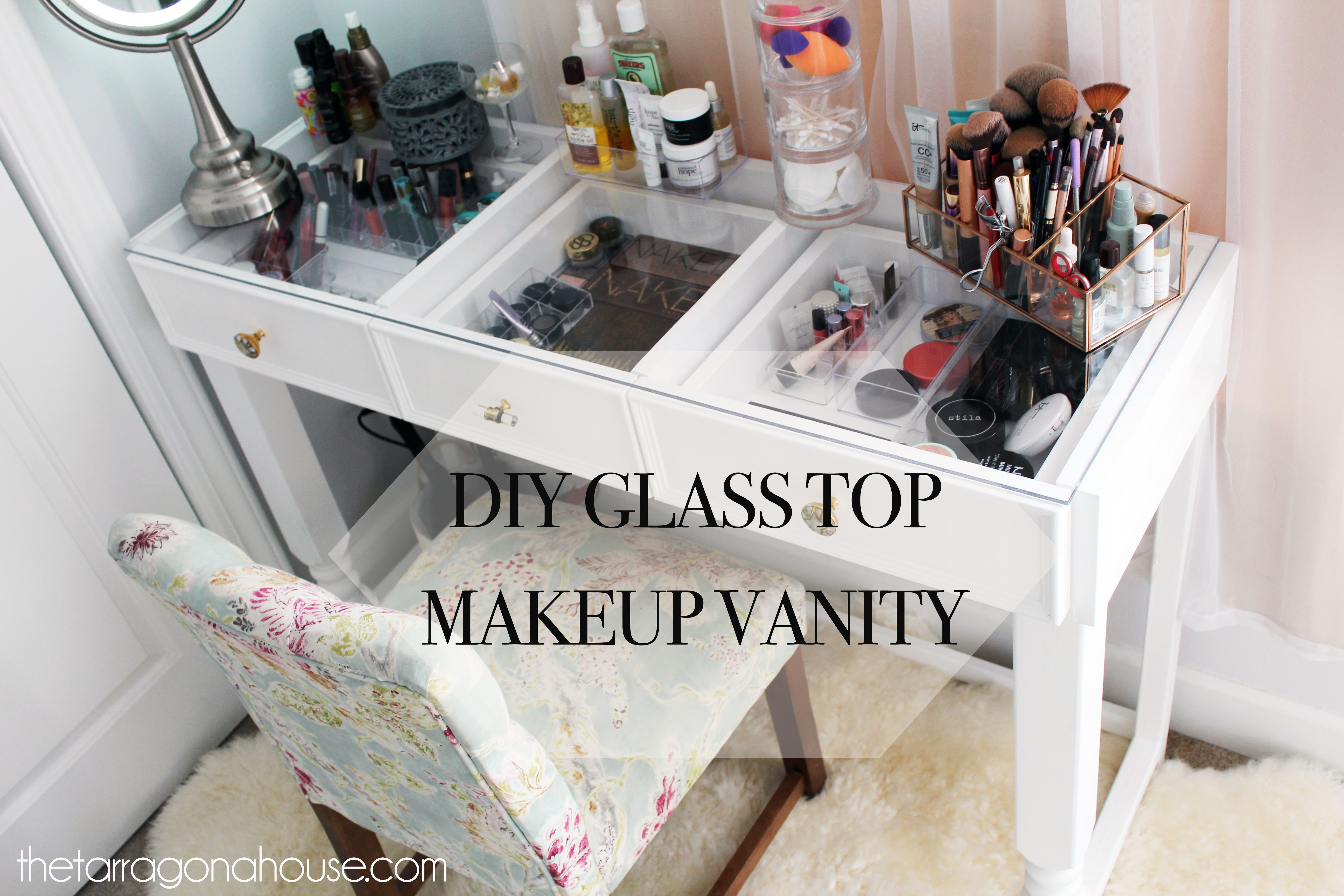 Ana White Diy Glass Top Vanity Diy Projects Glass Top Vanity Diy Makeup Vanity Diy Vanity Table