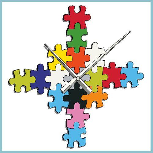 Karlsson Diy Puzzle Wall Clock Autodesk Revit
