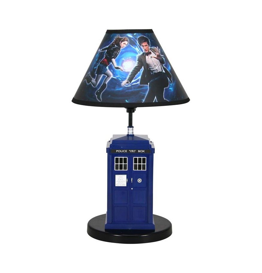 Wonderful Doctor Who: TARDIS Lamp Brighten Your Earthly Space With Other Worldly  Light And The Company