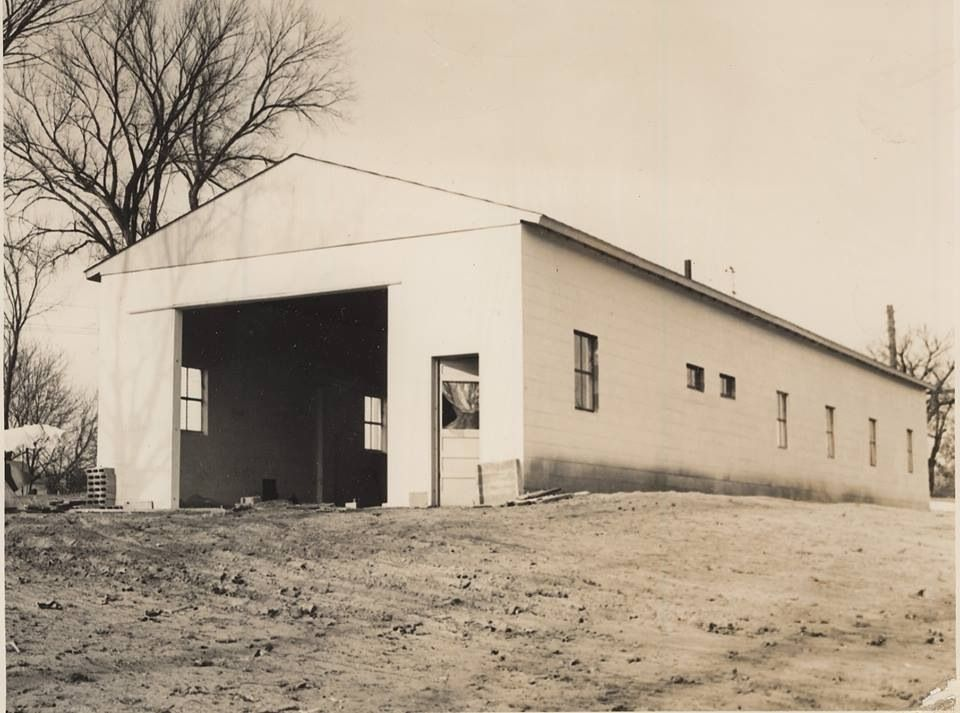 Building on Austin Ave. started out as a car wash, then