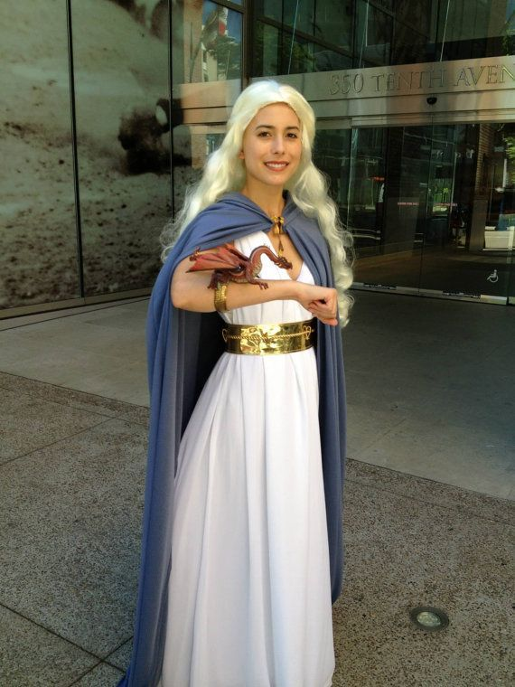 Daenerys targaryen costume halloween pinterest for Game of thrones daenerys costume diy