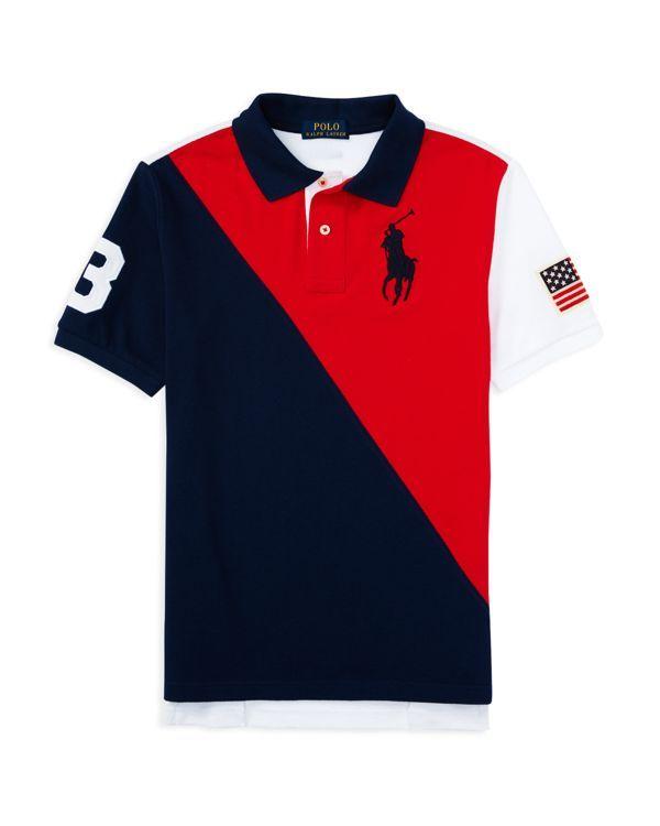 Polo Ralph Lauren Classic Fit Mesh Polo Medium, Newport Navy