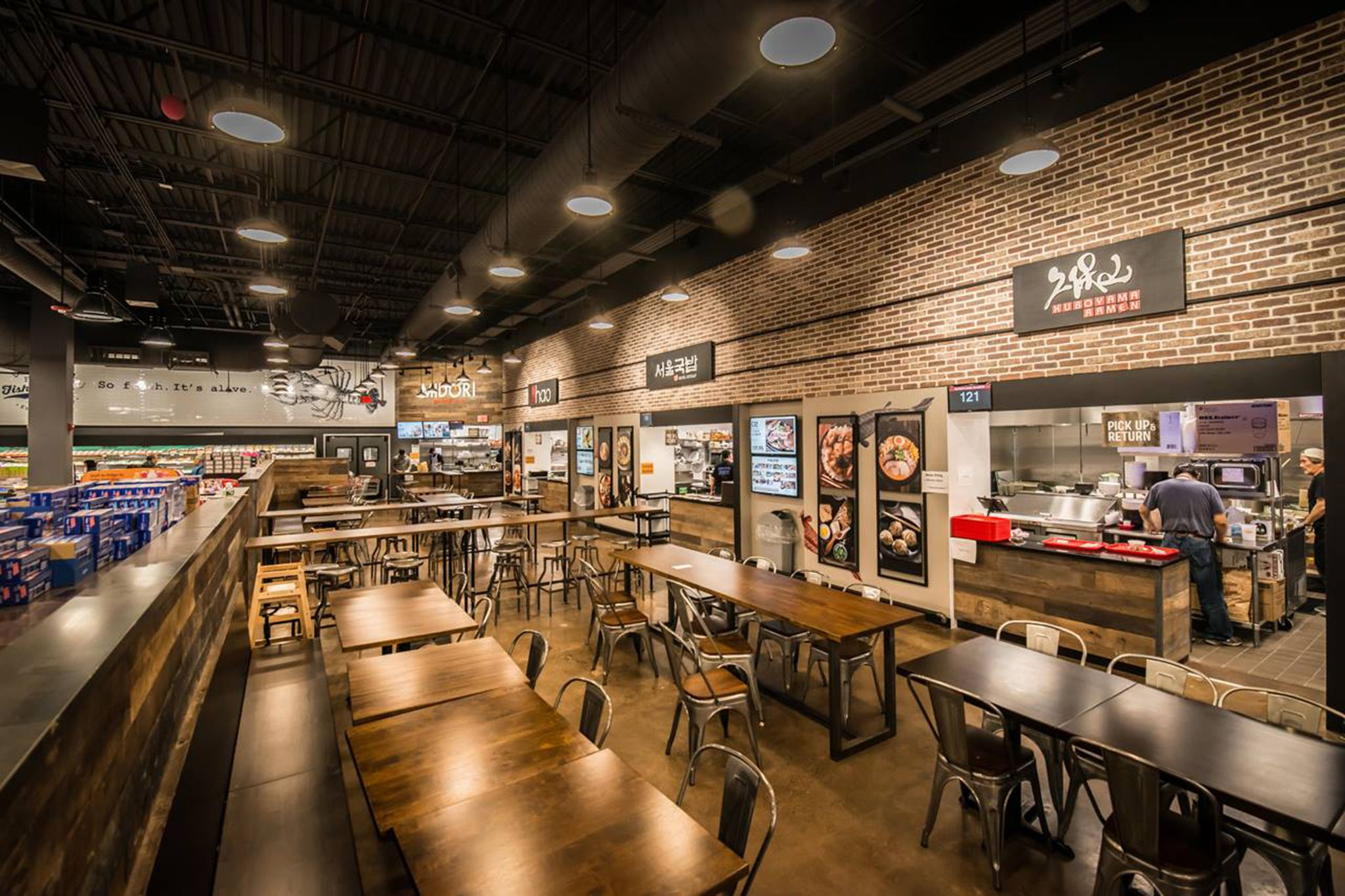 Asian supermarket and food hall hmart is set to open in