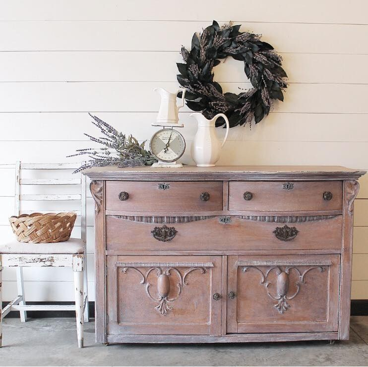 Lovely Buffet Whitewash W Antique White White Washed Furniture Beautiful Furniture Pieces Painting Furniture Diy