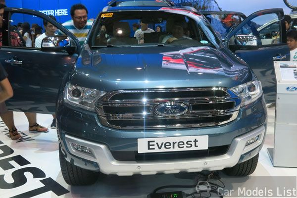 Ford Everest Car Model Review With Images Car Model Model Ford