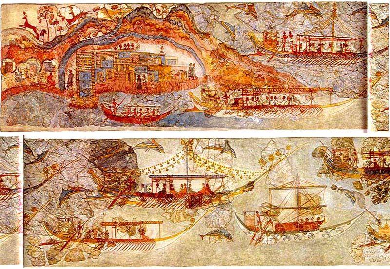 для ольги, корабль с богатством фото фрески возник