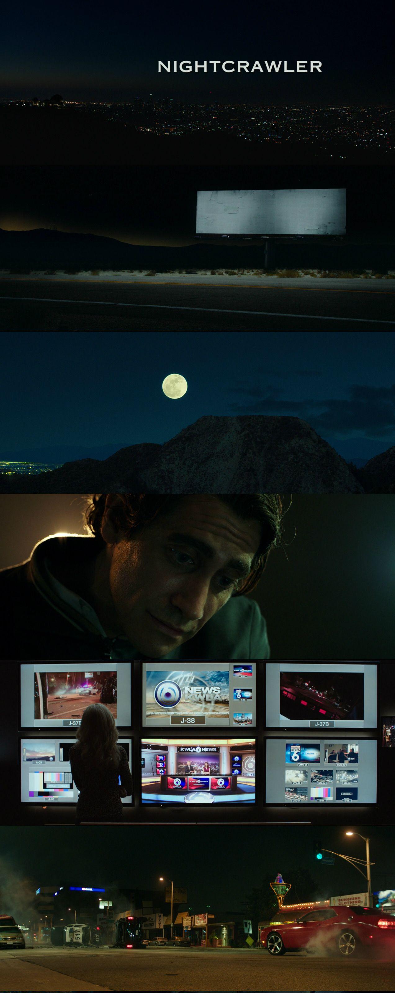 Nightcrawler (2014) Directed by: Dan Gilroy Cinematography: Robert Elswit, ASC