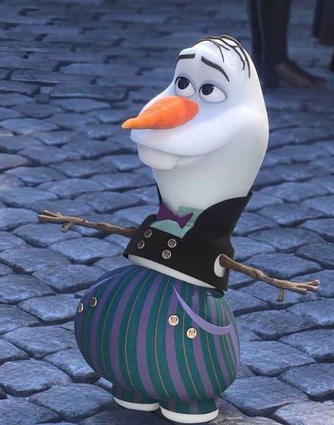 Olaf arrumado