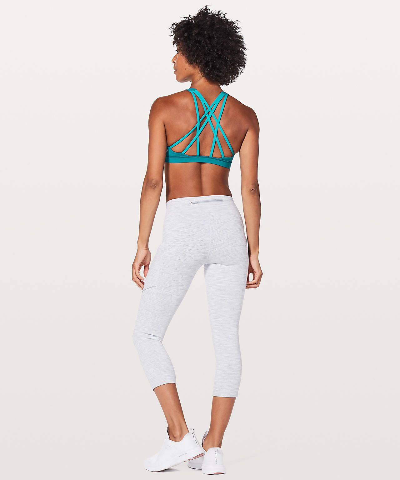 3c029b70e Free to Be Serene High Neck Pacific Teal/Teal Blue | Lululemon ...