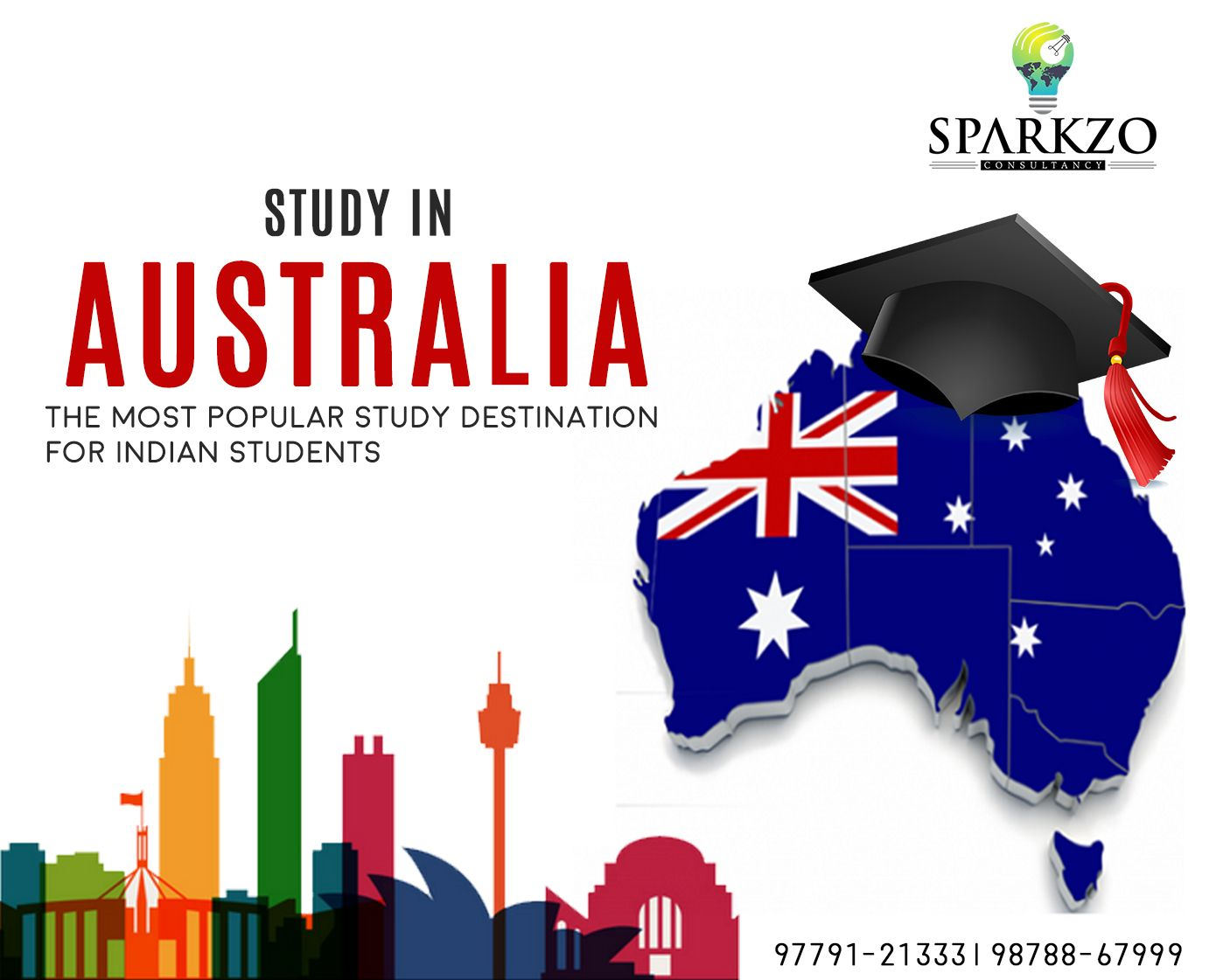 Why Study In Australia? 1. Australia has a great deal to