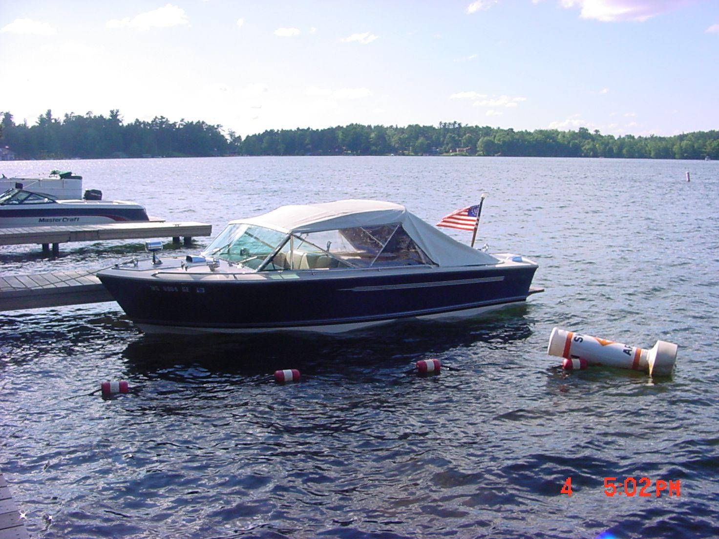 1944 Classic Wooden motor yacht Power Boat For Sale - www