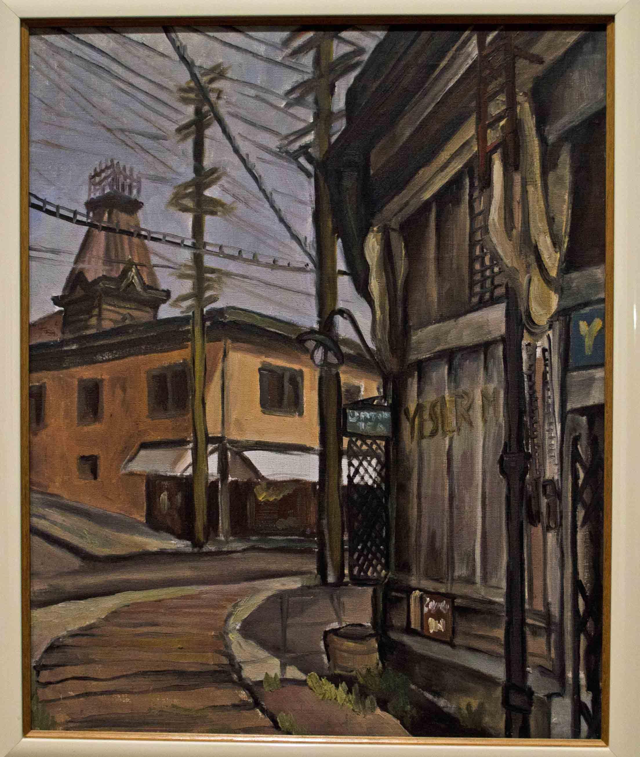 Painting Seattle Kamekichi Tokita And Kenjiro Nomura October 22 2011 February 19 2012 Saam