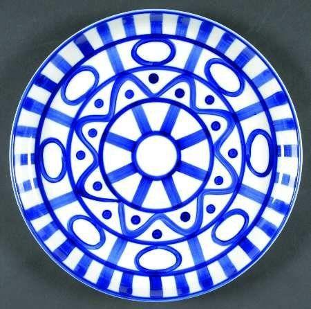 Dansk Arabesque (Sri Lanka, Phillipines) Luncheon Plate, Fine China Dinnerware by Dansk. $23.99. Dansk - Dansk Arabesque (Sri Lanka, Phillipines) Luncheon Plate - White Background,Blue Abstract Decor