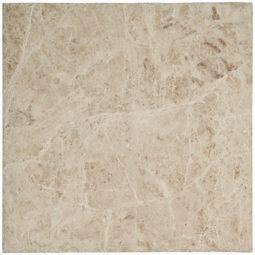 Half Bath Cappuccino Patterned Premium Marble Tile Marble Tile Marble Tile Floor Floor Decor
