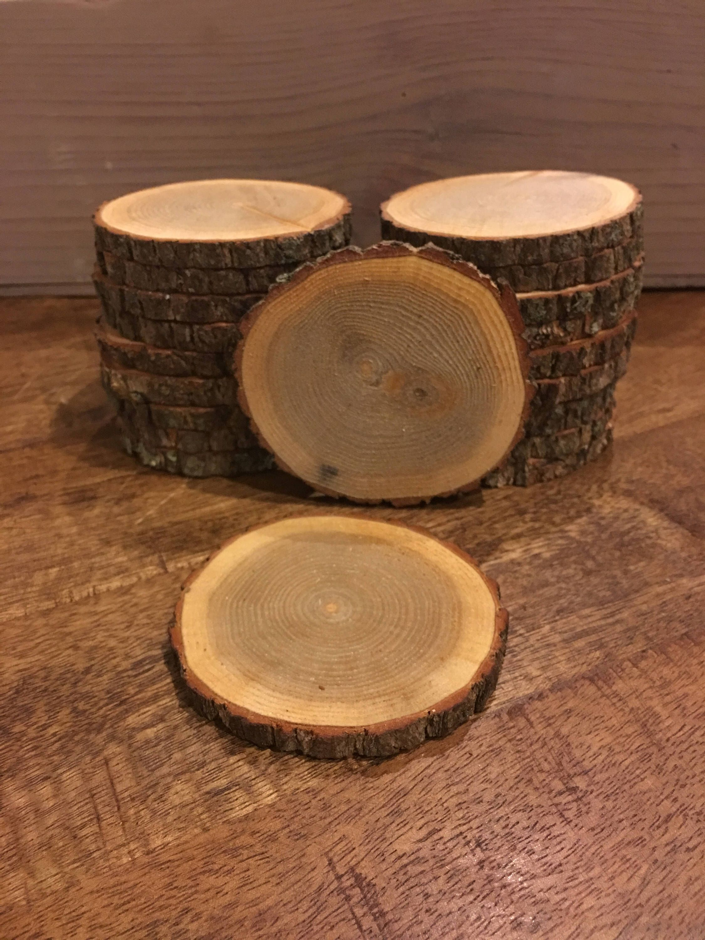 Excited To Share The Latest Addition To My Etsy Shop Wood Slices Mini Wood Slices Bulk Wood Slices Wood Wood Slice Ornament Rustic Wedding Decor Wood Slices