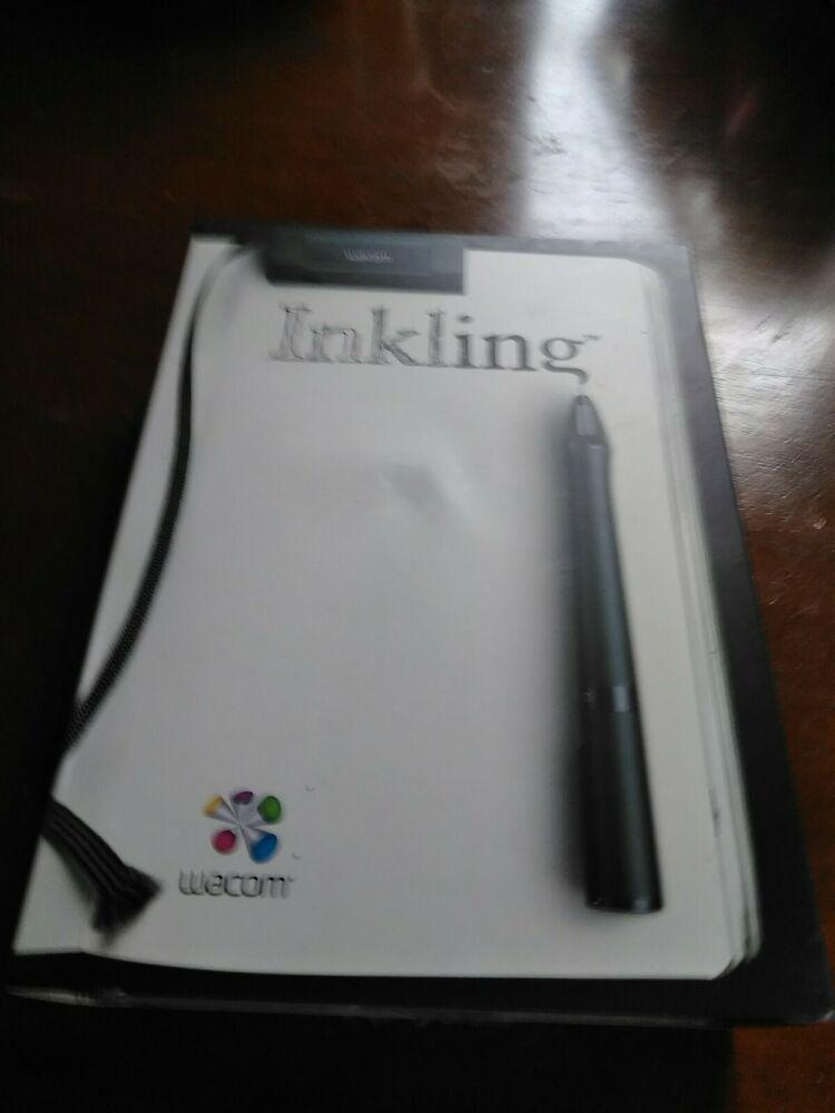 Wacom Inkling MDP-123 Sketch Pen Set w/ Case Extra Pen Tips