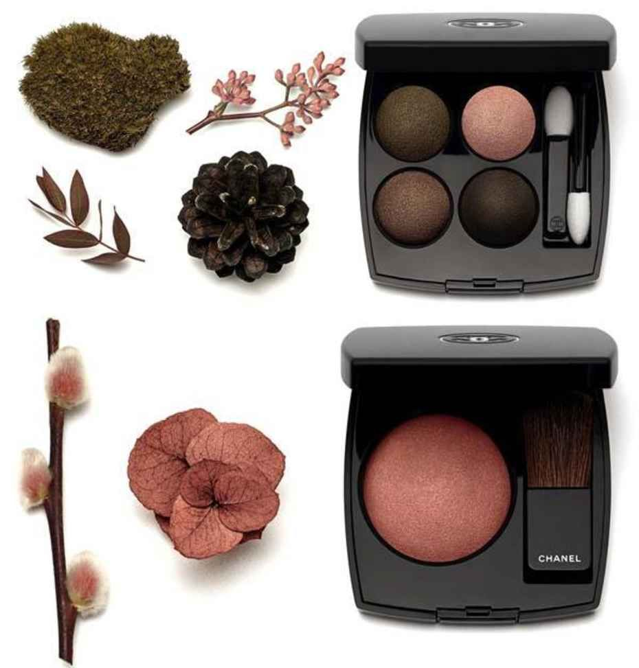 Automnales les chanel fall makeup collection exclusive photo