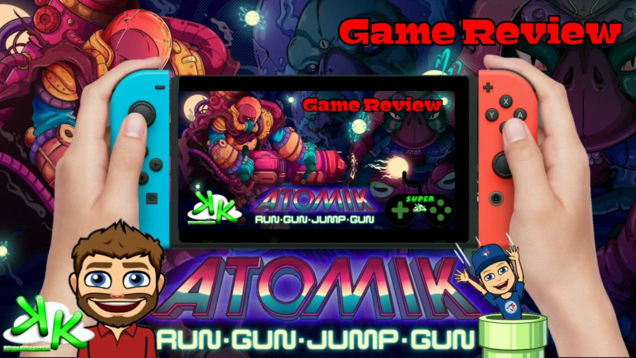 ATOMIKRunGunJumpGun Nintendo Switch Review Game