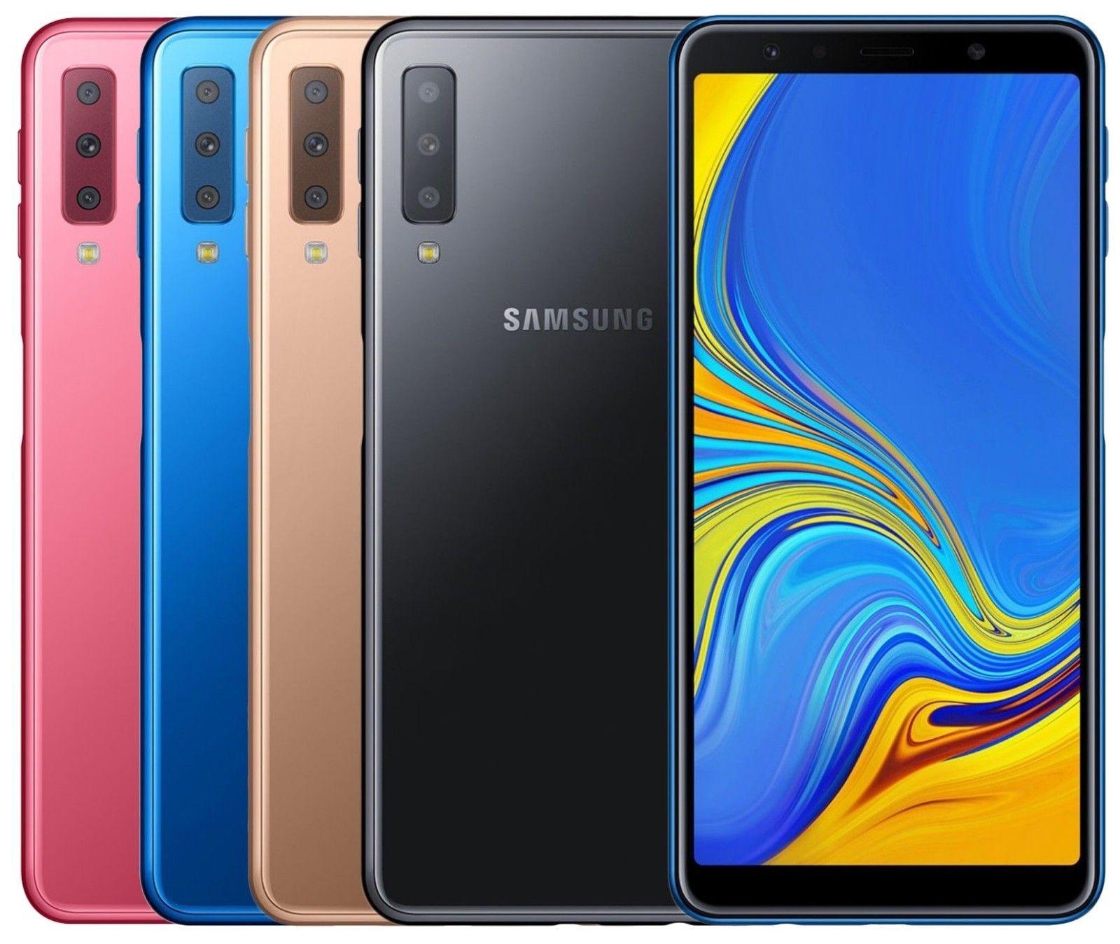 innovative design 2aca5 9fd02 Cell Phones and Smartphones 9355: Samsung Galaxy A7 2018 128Gb Sm ...