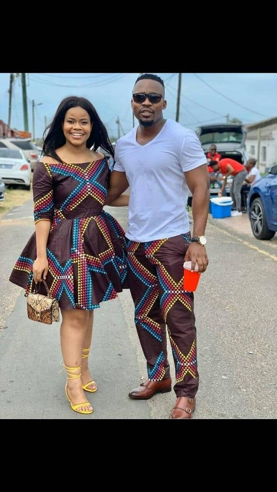 Couple outfits. Family outfits family party dress African wedding dress African family outfits Couples dress African Couple dress