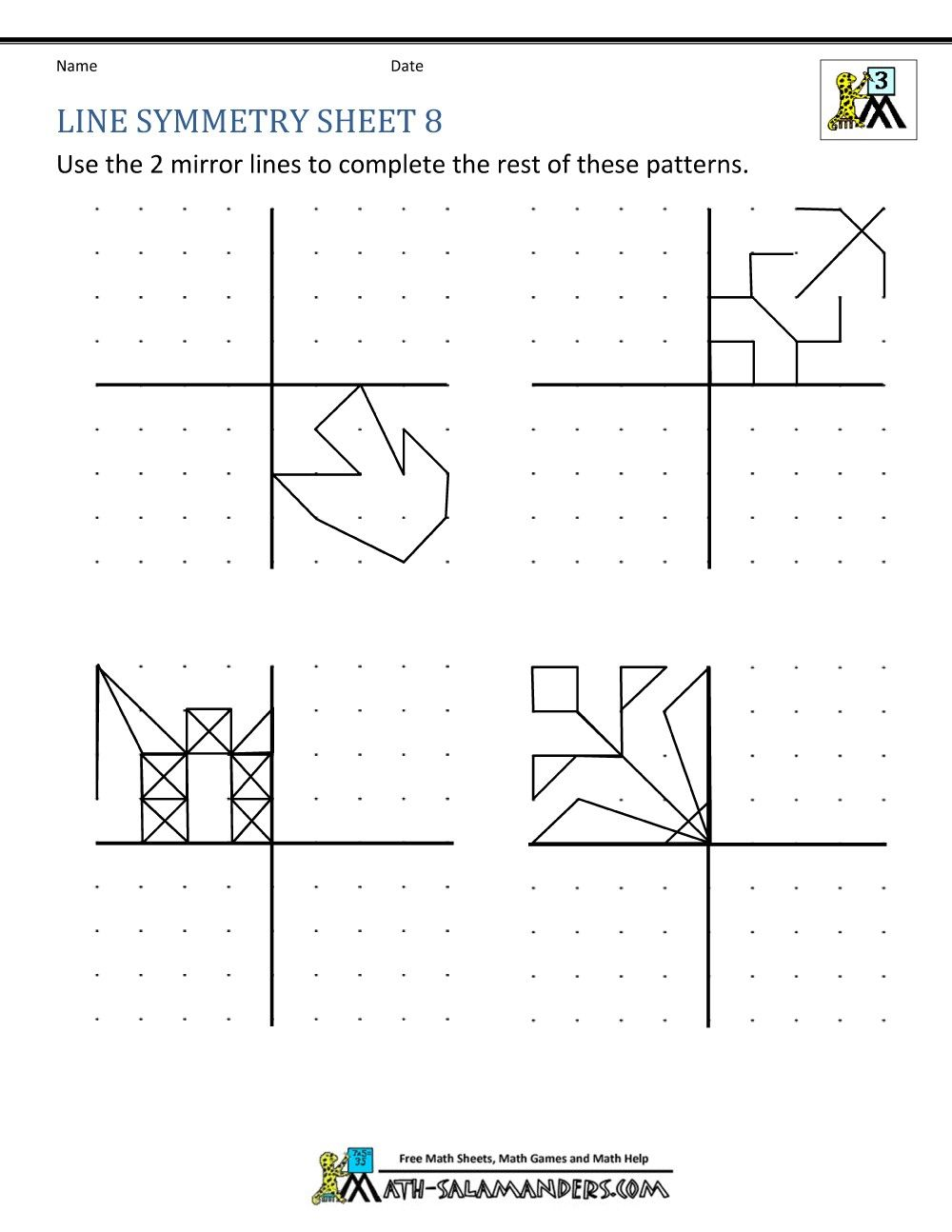 4 Worksheet End Of Year Reflections Thank You Symmetry Worksheets Symmetry Worksheets Symmetry Math Symmetry [ 1294 x 1000 Pixel ]