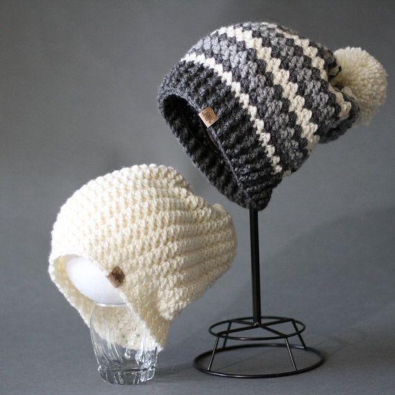 Crochet Slouchy Hat PATTERN Rainer Slouchy by PrettyDarnAdorable ...