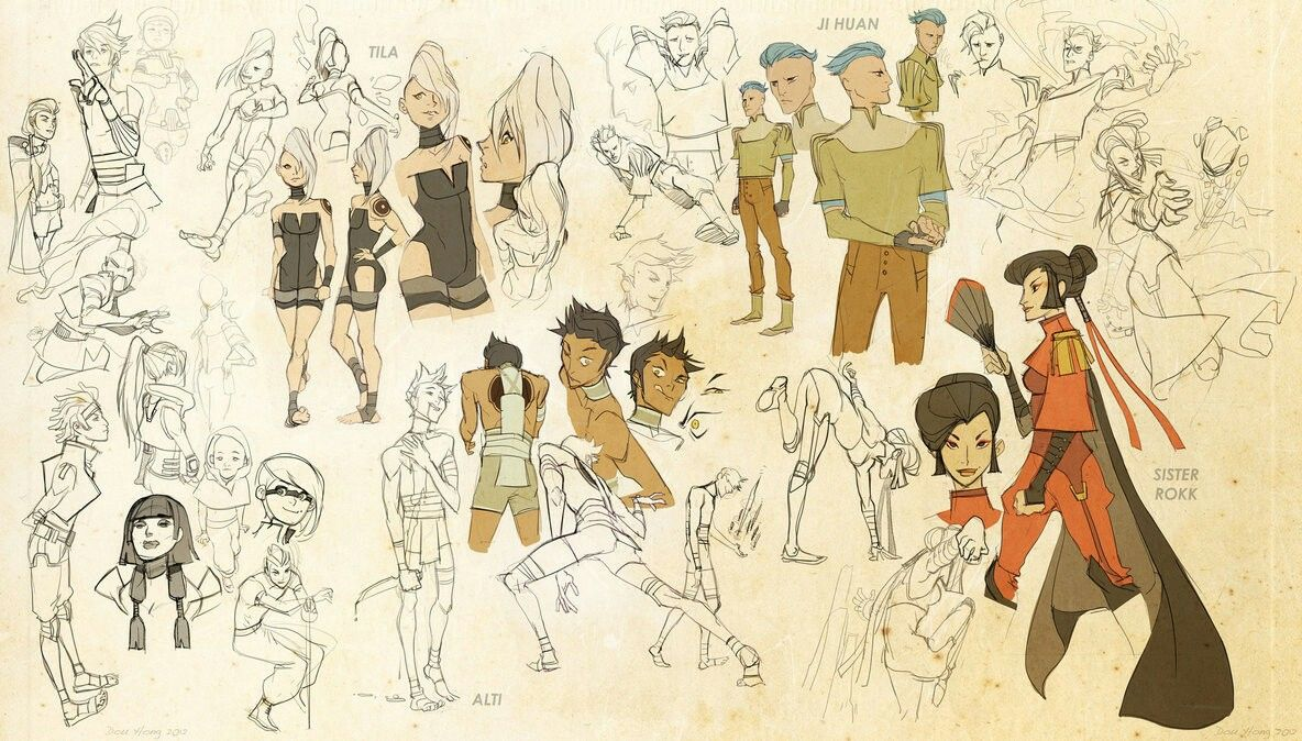 Pin by seyton linhart on legend of the elements characters legend of korra character concepts pt one by dou hong voltagebd Image collections