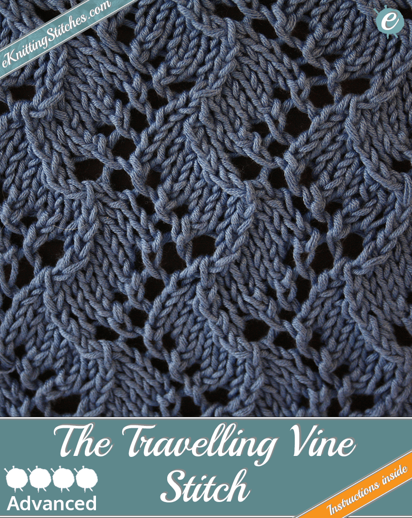 Travelling Vine Stitch | Stitch, Leaves and Patterns