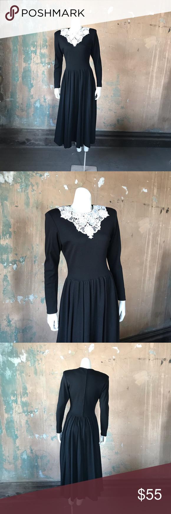 Pockets Alert Vintage Black Dress Larp Victorian Vintage Black Dress Dresses Colorful Dresses [ 1740 x 580 Pixel ]