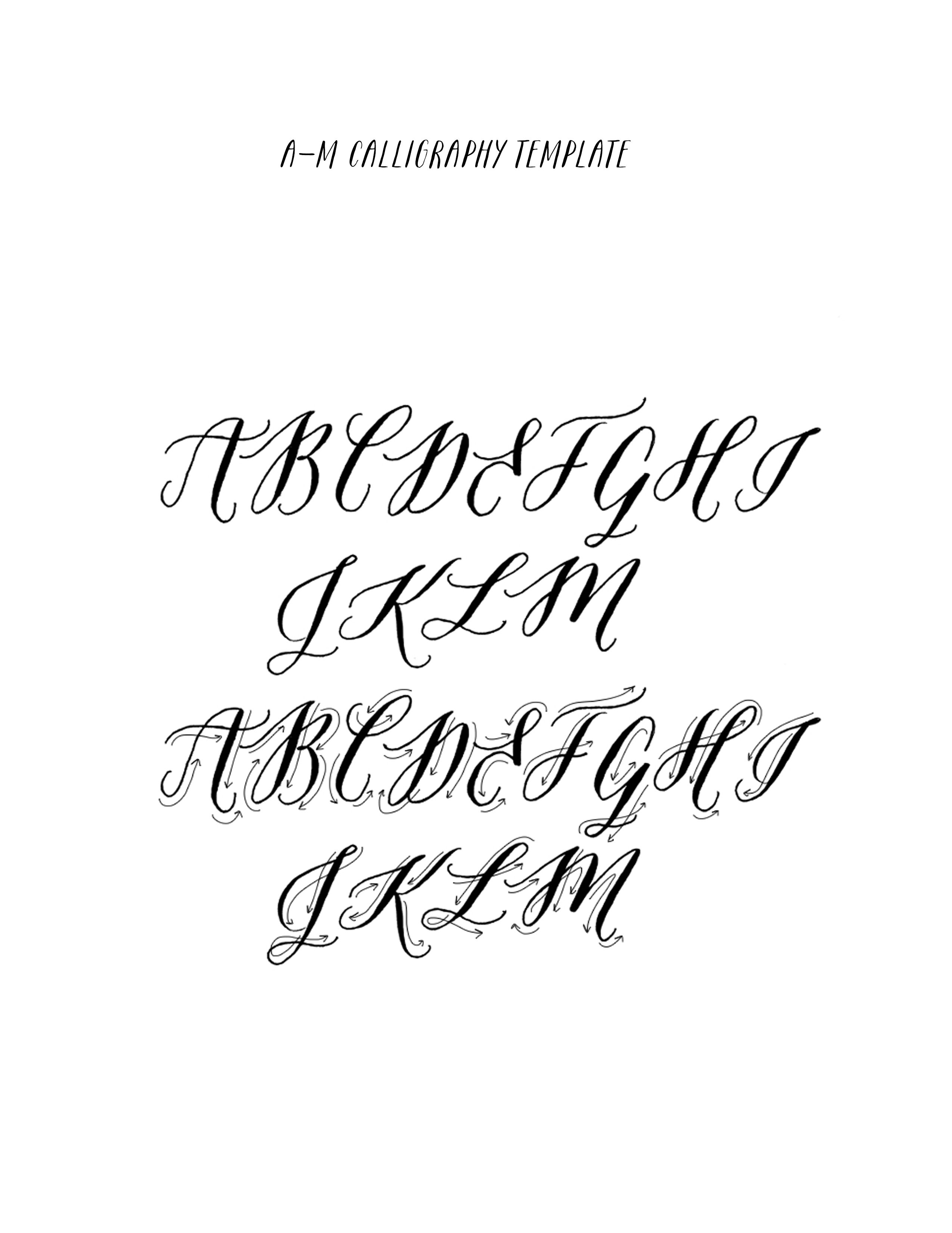 Pin By Mariana Garcia On Calligraphy